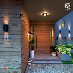 Use the outdoor motion sensor to let the lights turn on automatically when you arrive. Experience the impact of smart lighting Visit our website for more inspiration and for our full range lighting fixtures for your front yard, backyard and indoor areas.