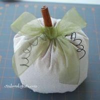 Easy Fabric Pumpkins {Tutorial}