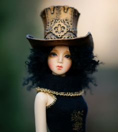 All sizes | Bjd steampunk hat | Flickr - Photo Sharing!