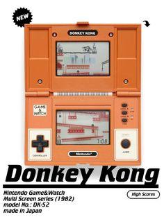 game_and_watch_8 Nostalgia, Vintage Games, Vintage Toys, Retro Games, Childhood Toys, Childhood Memories, Peter Et Sloane, Donkey Kong Games, Video Vintage