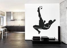 ik988 Wall Decal Sticker European football sports team game children's bedroom