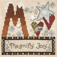 """September 2013 Pattern of the Month """"Magnify Joy"""""""