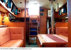 Inside of a sailboat? Yup. I'd be cool with living on a sailboat. wanna come with?