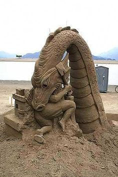 A Stunning Gallery of Science Fiction and Fantasy Themed Sand Sculptures