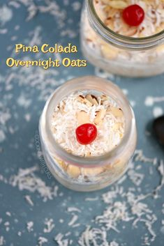Get a healthy start to your morning with these delicious Pina Colada Overnight Oats. Super easy to prepare, packed with tropical flavor, and sure to be a hit with the whole family! What's For Breakfast, Breakfast Recipes, Gluten Free Brands, Real Food Recipes, Yummy Food, Friend Recipe, How To Eat Better, Best Food Ever, Chocolate Chip Oatmeal