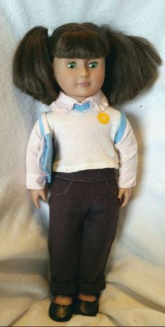 """18"""" Target Exclusive OUR GENERATION doll  Original Brown Hair Green Eyes Pigtail #DollswithClothingAccessories"""