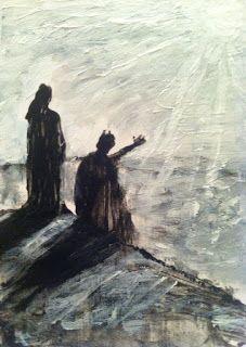 "Zombie Art by Jack Larson: ""ALL THE KINGDOMS""    #art #jesus #satan"