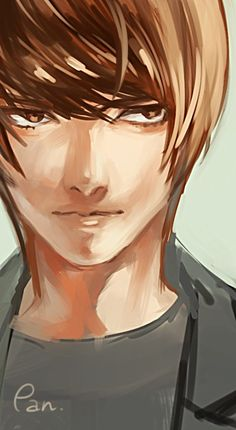 Light Yagami by Death Note Fanart, Death Note デスノート, Death Note Light, L Lawliet, Light Yagami, Book Works, Ghibli Movies, Angel Of Death, Shinigami