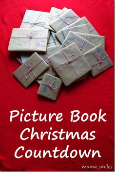 Make a Picture book Christmas Countdown. Good idea that would be fun for kids!