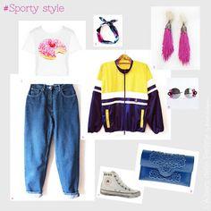 Outfit per uno stile casual-sportivo di lalberodelleperline