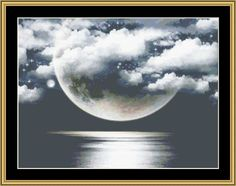 Fantasy Moon [RNFP-334] - $16.00 : Mystic Stitch Inc, The fine art of counted cross stitch patterns