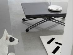 The yoyo table. Goes to the top of the list for dining table/coffee table.