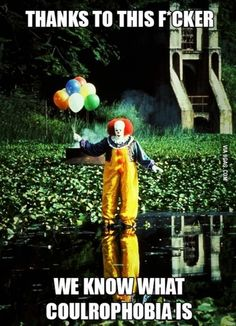 Thank you Pennywise!