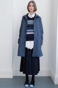 James Long, London Fashion Week.  O/W 2013.