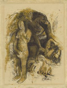 Paul Gauguin, Eve (The Nightmare), 1899–1990