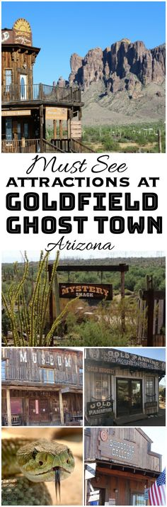 10+ Must Visit Attractions at Goldfield Ghost Town – The CentsAble Shoppin