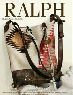 Ralph Lauren handbag - I love this bag so much, I think I pin it everytime I see Handbags Ralph Lauren Handbags, Ralph Lauren Bags, Ralph Lauren Style, Ralph Lauren Collection, Mochila Crochet, Shabby Chic Stil, Boho Chic, Carpet Bag, Moda Boho