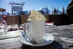 Hot chocolate in Grossarl Drinking Around The World, Hot Chocolate, Austria, Ice Cream, Drinks, Tableware, Desserts, Food, Food And Drinks
