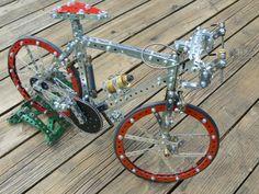 Meccano bike