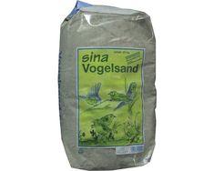 Vogelsand Sina mit Anis und Kalk, 25 kg