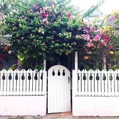Cottage with Pineapple Fence on Harbour Island, Bahamas: http://beachblissliving.com/dunmore-hotel-harbour-island-visit/