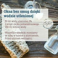 Okna bez smug. Simple Life Hacks, Diy Cleaners, Tidy Up, Home Hacks, Good Advice, Organization Hacks, Declutter, Clean House, Good To Know