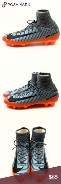eccb3abd541 Nike Mercurial Superfly CR7 FG Soccer Cleats 5.5Y Nike Junior Mercurial  Superfly V CR7 FG