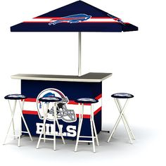 NFL Buffalo Bills Portable Bar