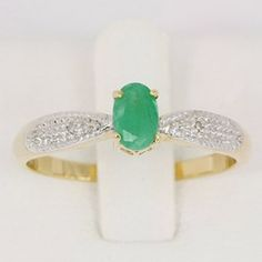 8ed8d17e3d99a Anel de Formatura em ouro 18k com Pedra Natural Esmeralda e Diamantes-  CÓDIGO - ANFO - 01