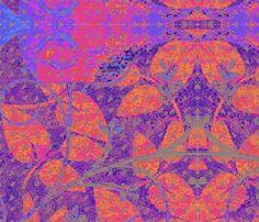 Morning Glory fabric by floramoon_designs on Spoonflower - custom fabric