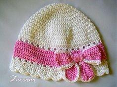 Crochet Kids Hats, Baby Girl Crochet, Crochet Gloves, Crochet Beanie, Crochet Scarves, Knitted Hats, Knit Crochet, Crochet Flower Patterns, Doily Patterns
