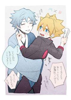 Boruto: Naruto Next Generations / Mitsuki And Boruto / BoruMitsu