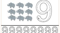 Free handwriting pages for writing numbers Writing Numbers, Letters And Numbers, Free Handwriting, Tracing Worksheets, Preschool Printables, Tot School, Kids Learning, Coloring Pages, Symbols