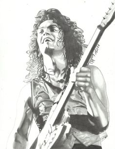 EDDIE VAN HALEN #38 by *lryvan on deviantART