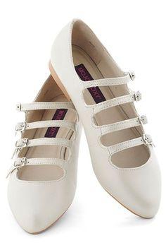 Flats with a ballerina feel