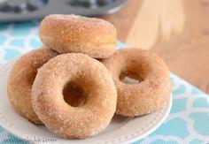 Reciep para una fácil receta al horno canela Azúcar Buñuelo