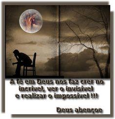 Com a Fé em Deus você pode!!!