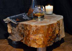 Reclaimed Oak Drinks Table
