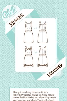 Constructing the Hazel dress with couture methods...    Cashmerette: Getting all fancy with couture