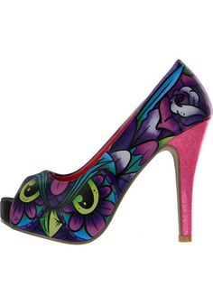Iron Fist What A Hoot Peeptoe multi Titus Onlineshop