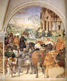 Category:Stories of Saint Benedict in Monte Oliveto Maggiore by Sodoma - Wikimedia Commons