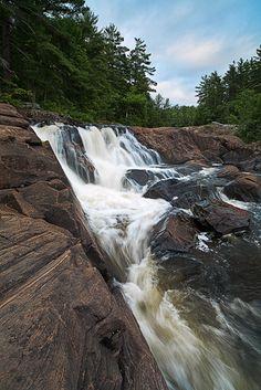 Backbone – Wilson's Falls, Bracebridge, Ontario
