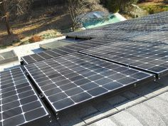 Solar Energy World installs a solar power system - this is great!