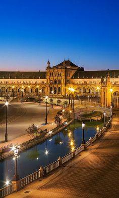 Plaza de España. SEVILLA. ESPAÑA