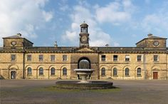 WENTWORTH WOODHOUSE: The Stables inter courtyard