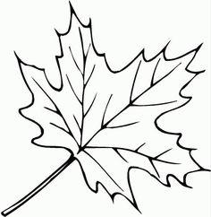 Трафареты Кленовых листьев скачать бесплатно