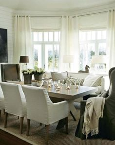 Isn't this room romantic? The different shades of white and beige accents make this room a great place to host dinner parties that will be the talk of the town. Today I'm going to show you how to a...