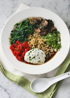 Veggie-packed noodle soup