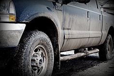 Mmm mmm mmmmmmmm!!! I loooovvvveeee me some muddy BIG TRUCKS!! ;)