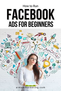 Learn How to Run Facebook Ads as a Beginner.  By using these Facebook Ad tips you will learn the basics about Facebook ads marketing. Marketing agency specialized in social media management, sales funnels, email marketing campaigns, Facebook ads Social Media Marketing Manager, Facebook Marketing Strategy, Email Marketing Campaign, Social Media Services, Marketing Strategies, Marketing Ideas, Business Marketing, Online Marketing, Digital Marketing